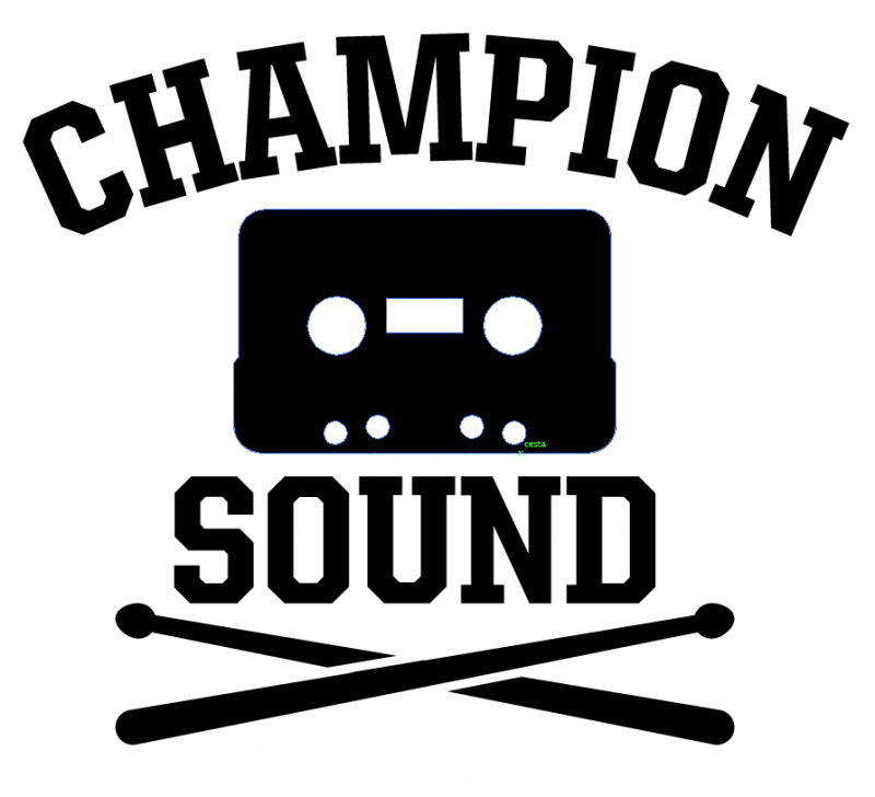 Champion_Sound_logo_kazeta_palicky